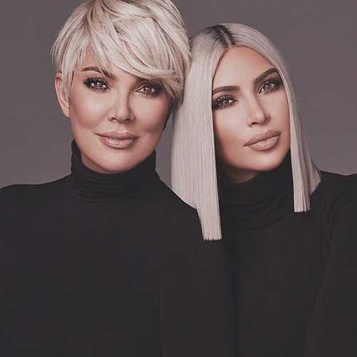cabelo da kim kardashian west 2018