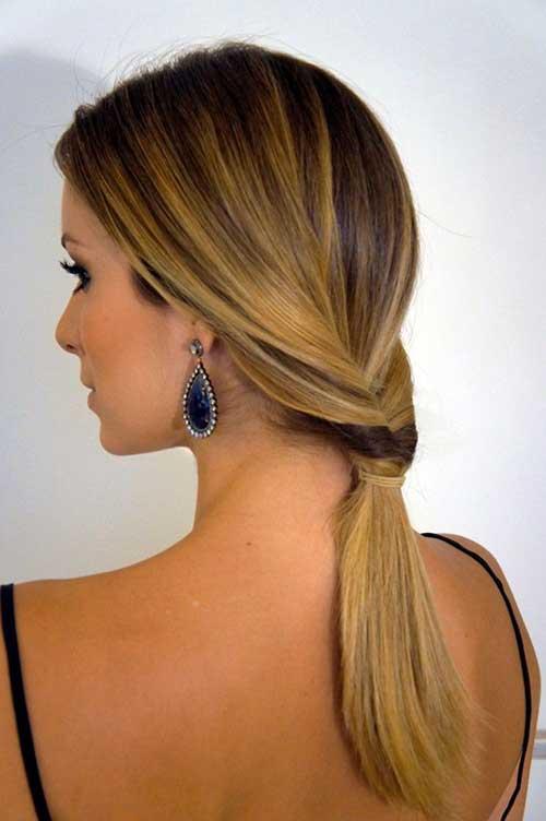 cabelos lisos de madrinhas