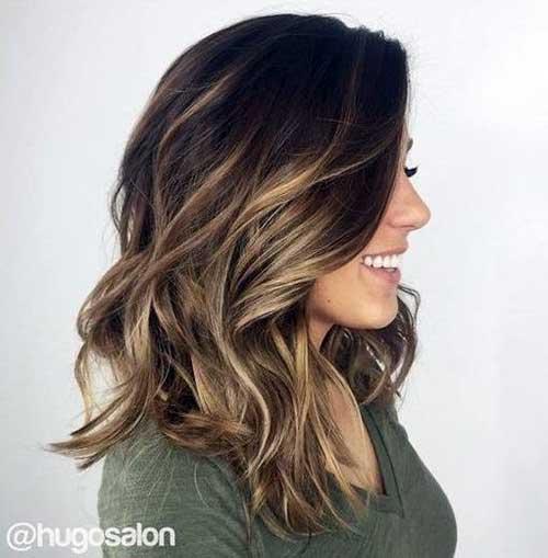 cabelo ombre hair com mel