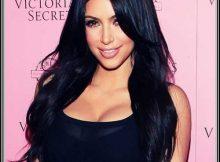 cabelo preto repicado da kim kardashian