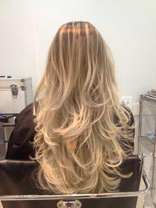 balaiagem para cabelo de loira