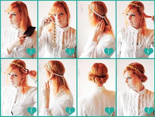 como fazer cabelo vintage da decada de 1960