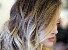 mechas platinadas em cabelo curto