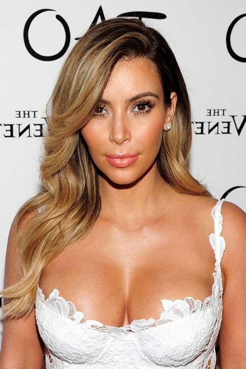 tonalidade mel com kim kardashian