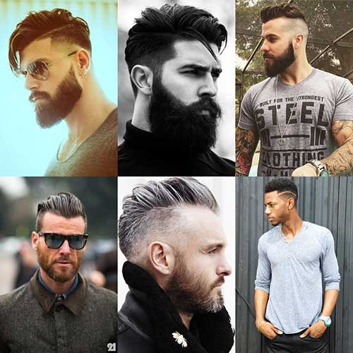 cabelo masculino vintage bonito
