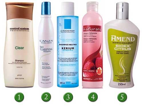 shampoo para tratar couro cabeludo oleoso