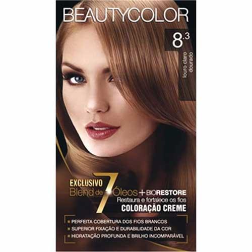 tintura beauty color pra cabelo loiro