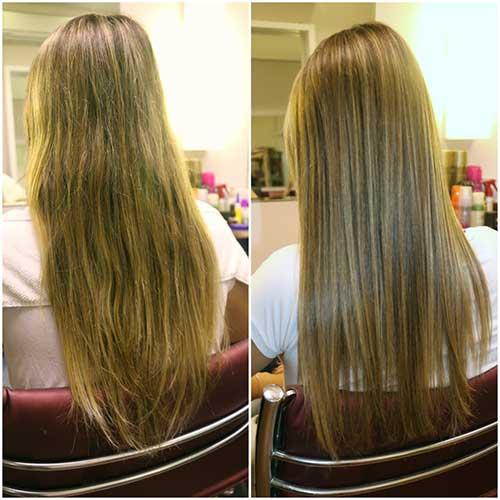 velaterapia resultados em cabelo danificado