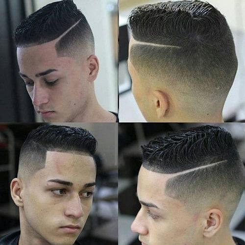 cabelo quadrado com disfarce