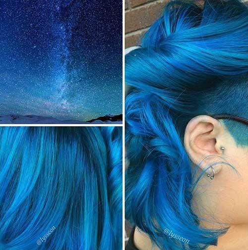 cabelo azul do real madrid