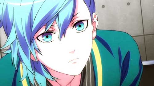 madeixa azul anime