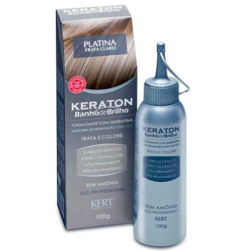 banho de platina keraton