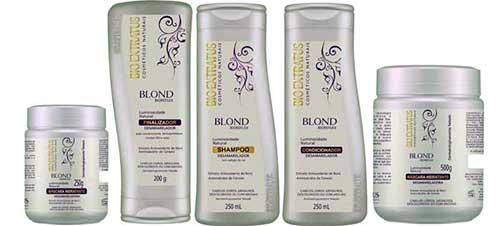 produtos blond da bio extratus