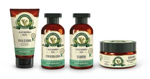 produtos de algas marinhas