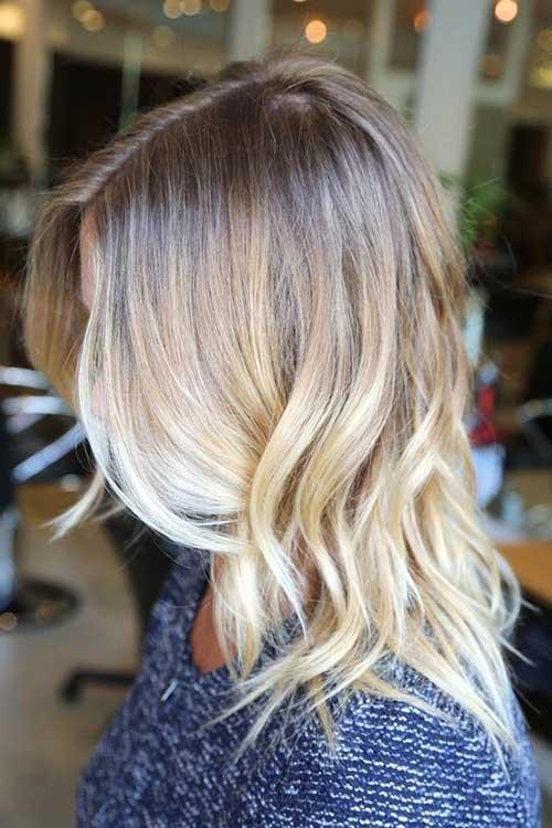 cabelos em camadas com luzes californianas