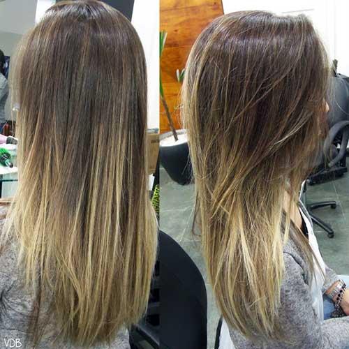 californiana clara no cabelo castanho