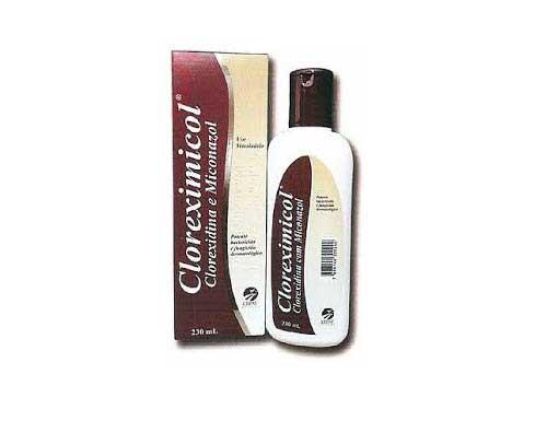 shampoo cetoconazol com clorexidina