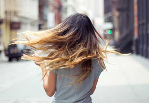 cabelo comprido em imagem do tumblr