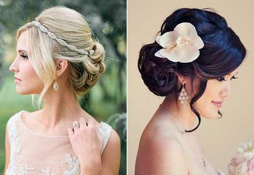 penteados para noivas de casamento