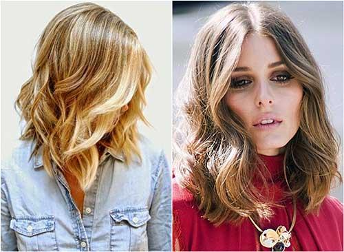 cabelos em camadas com ondas
