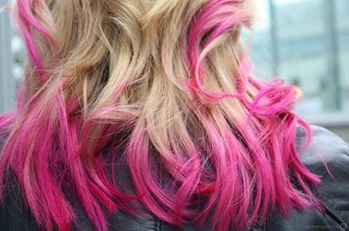 cabelo curto loiro mas rosa