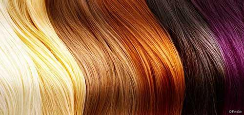cabelos pintados devem ser descoloridos