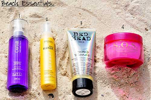 dicas de como cuidar dos cabelos na praia e no verao