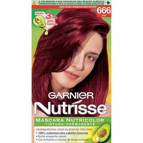 cabelo vermelho garnier