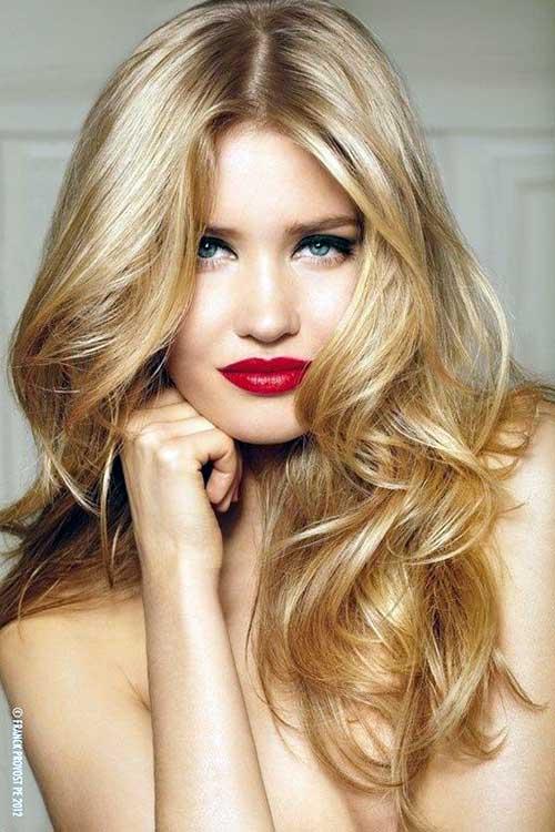 cabelos loiro mel bonito