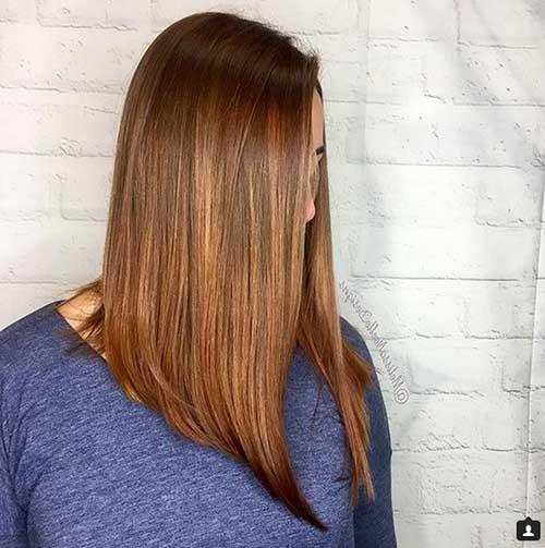 corte de cabelo comprido no estilo long bob