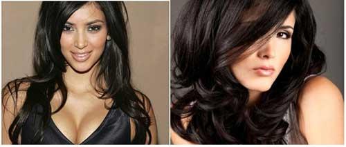 cabelos pretos lindos compridos