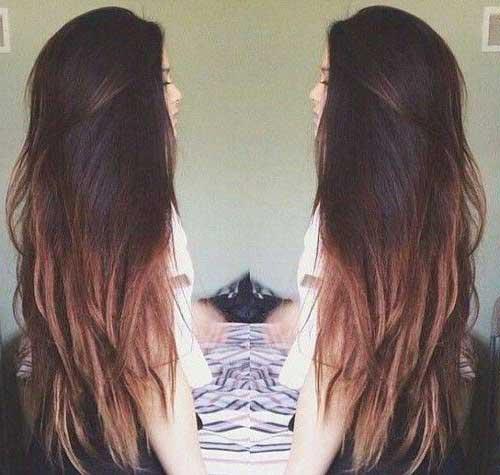 fotos e imagens de cabelos femininos com californiana na cor chocolate
