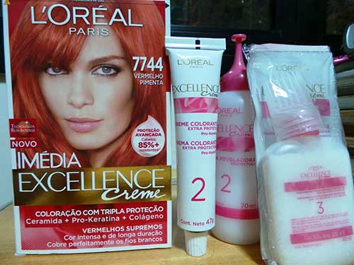 kit loreal imedia excellence