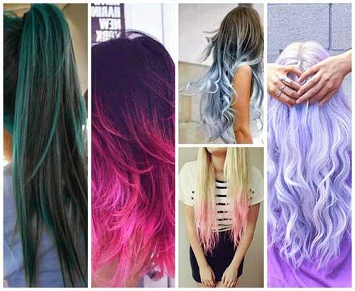 californianas coloridas vistas de costas para inspirar