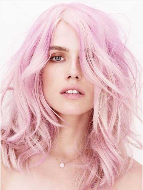 cabelo rosa millennial esta na moda