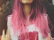 cabelo rosa lindo no tumblr