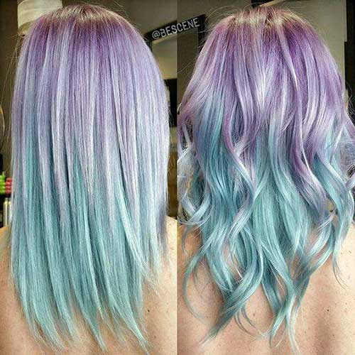 cabelos de sereia trend