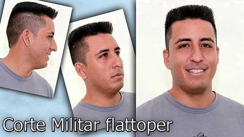 flat top masculino