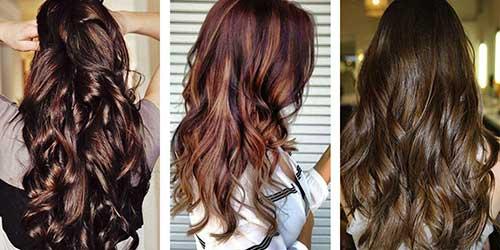 quais as melhores cores de cabelo para morenas? veja na foto!