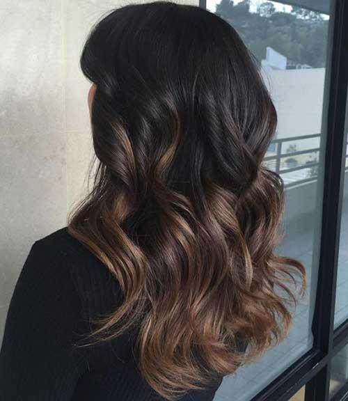 ombre hair marrom para cabelo preto