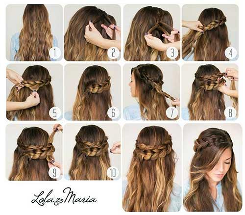 fotos e imagens de penteados legais