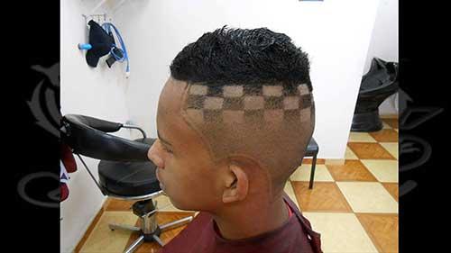 cabelo masculino de funk