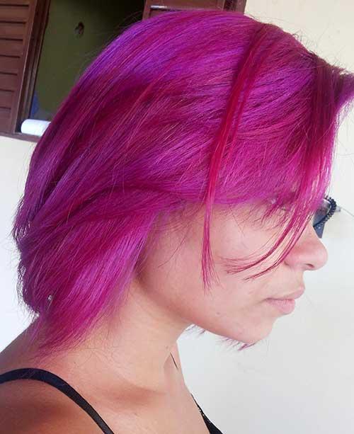 cabelo rosa escuro especial