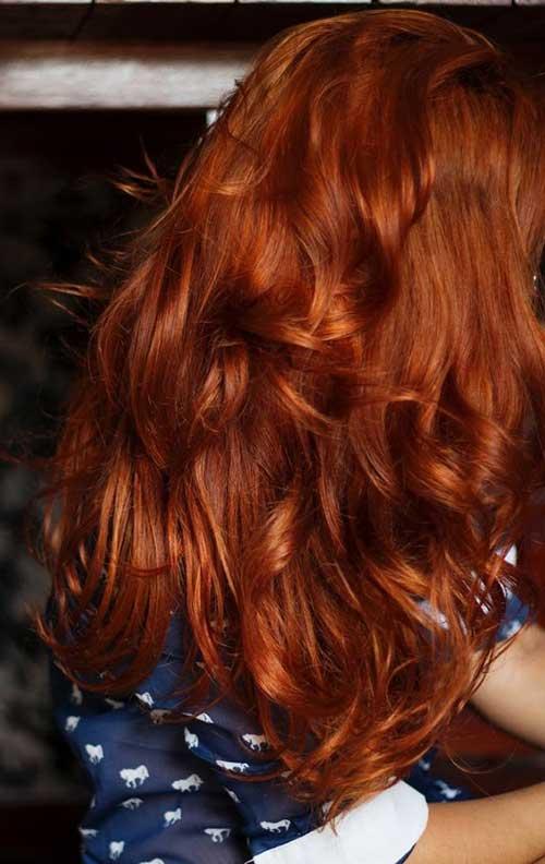cabelo ruivo naturalmente lindo