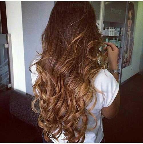 cabelo mel caramelado iluminado