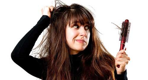combata a queda de cabelo