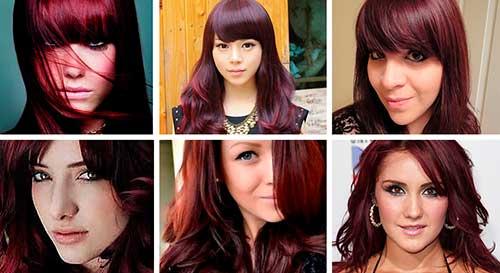 cabelo ruivo borgonha
