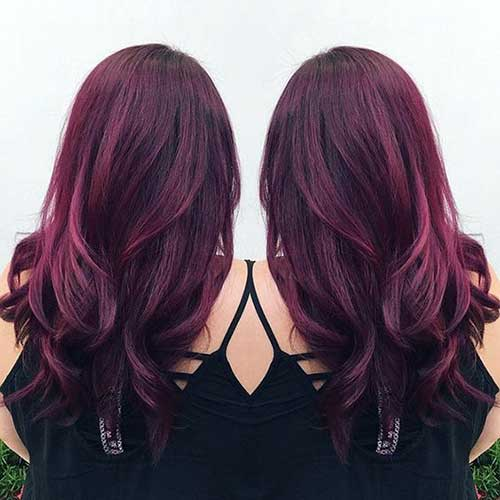 black red hair color styles 61 tons de ruivo descubra o que mais combina voc 234 9801 | vinho ou violeta