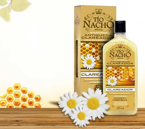 shampoo tio nacho clareador