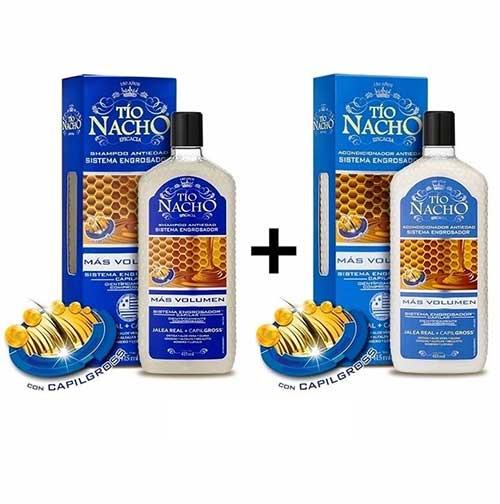 shampoo que engrossa cabelo da marca tio nacho